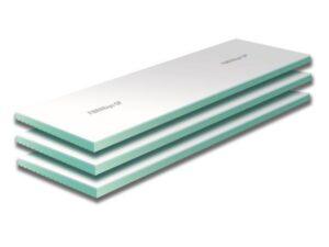 Πάνελ γυψοσανίδας μαζί με θερμομονωτική πλάκα xps, eps, γραφιτούχο eps